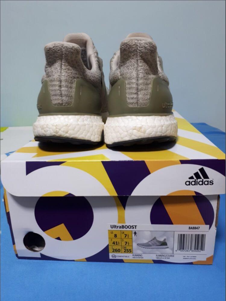 829a8603920 Adidas Ultra Boost 3.0 PEARL GREY