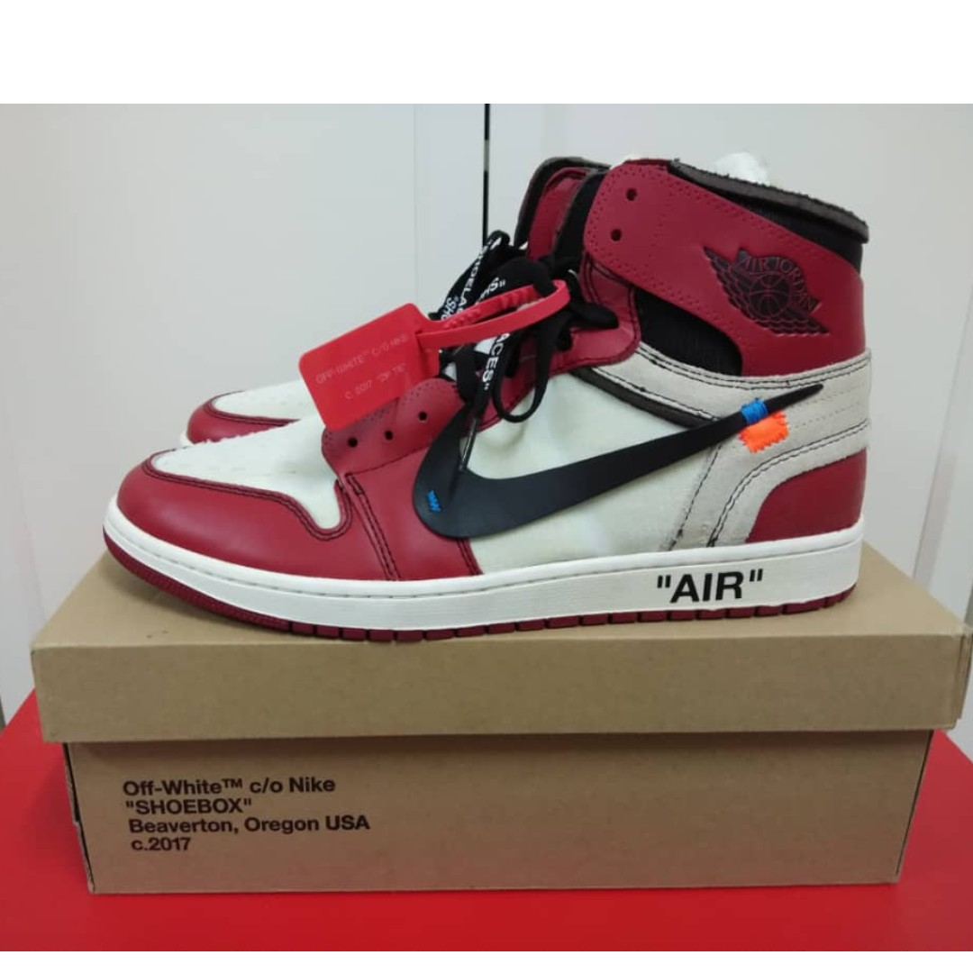 1cf68677d17356 Air Jordan 1 x Off White (Chicago)