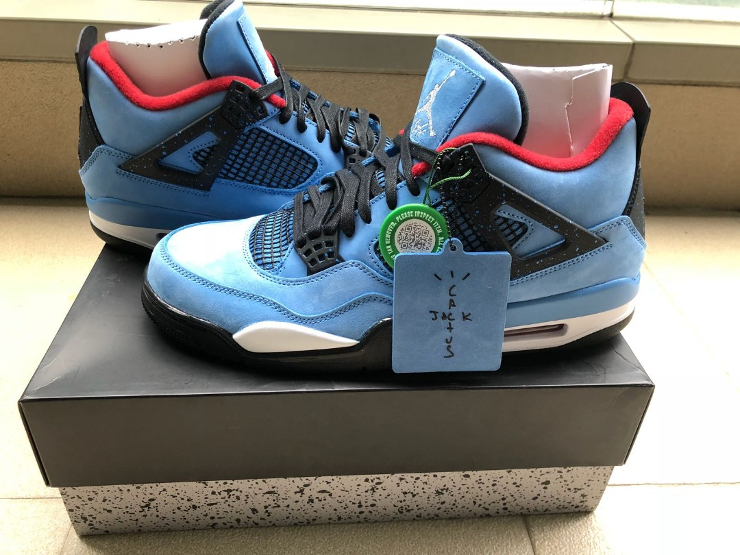 d49ef9d23ee Air Jordan 4 Cactus Jack (Travis Scott) US 9.5