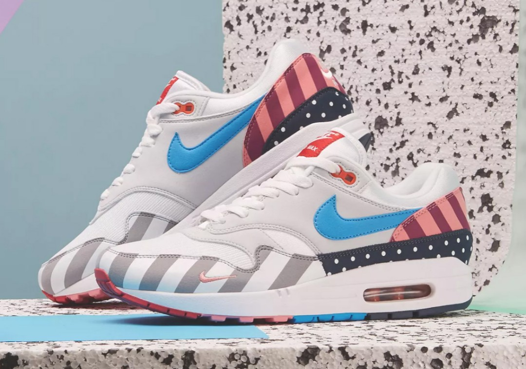 f96ee282 Air Max 1 Parra, Men's Fashion, Footwear, Sneakers on Carousell