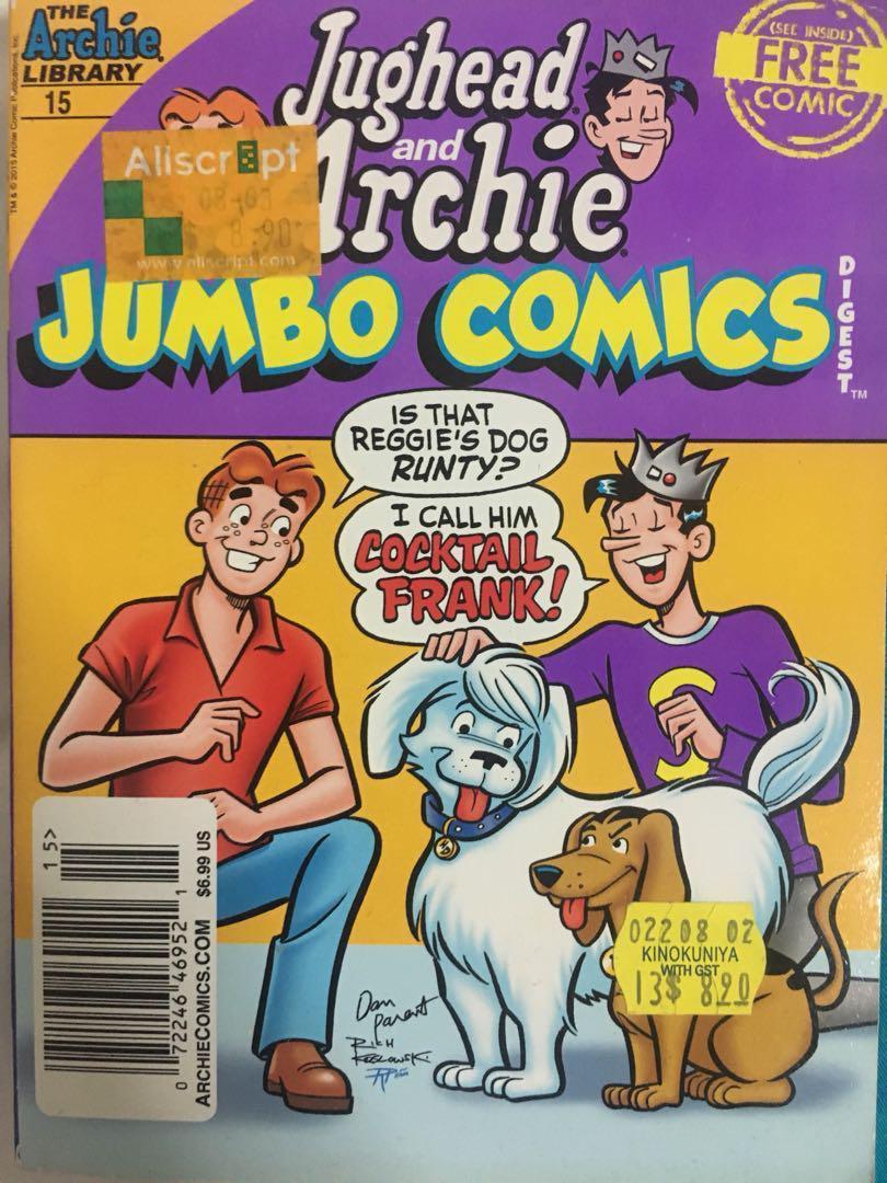 Archie comics, Books & Stationery, Comics & Manga on Carousell