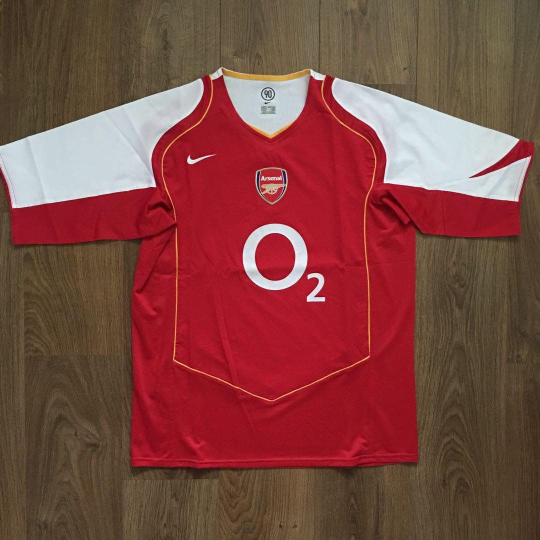 new product 8fa60 853e3 Authentic Arsenal 2004-05 • XL, Sports, Sports Apparel on ...