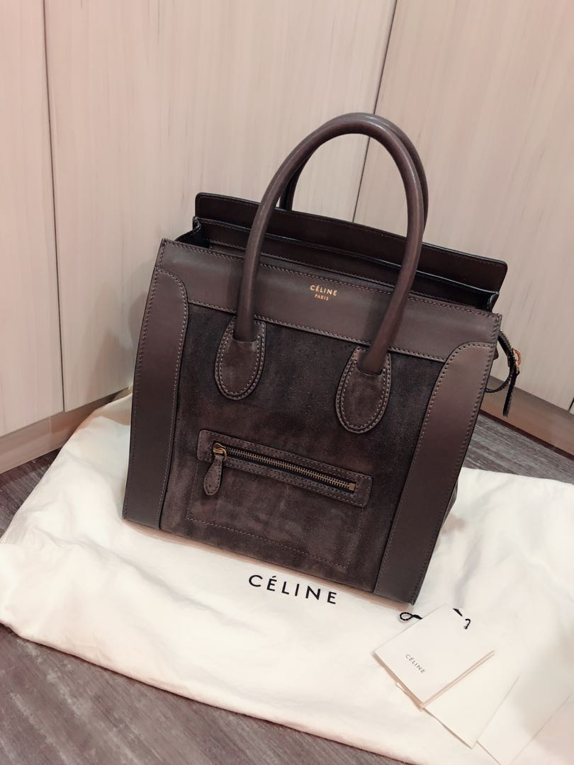 0eed080a11 Authentic Celine Luggage Bag