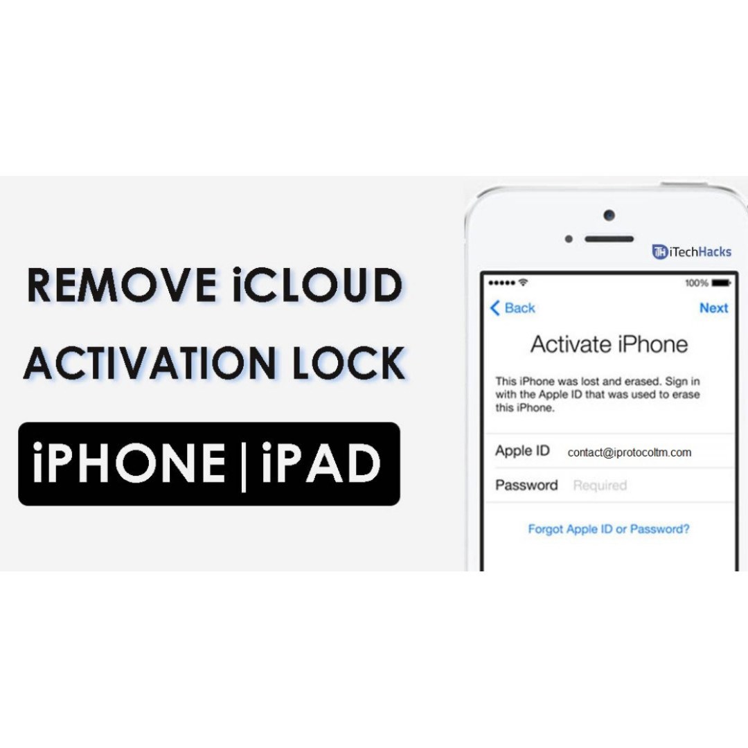 Authentic iCloud Removal