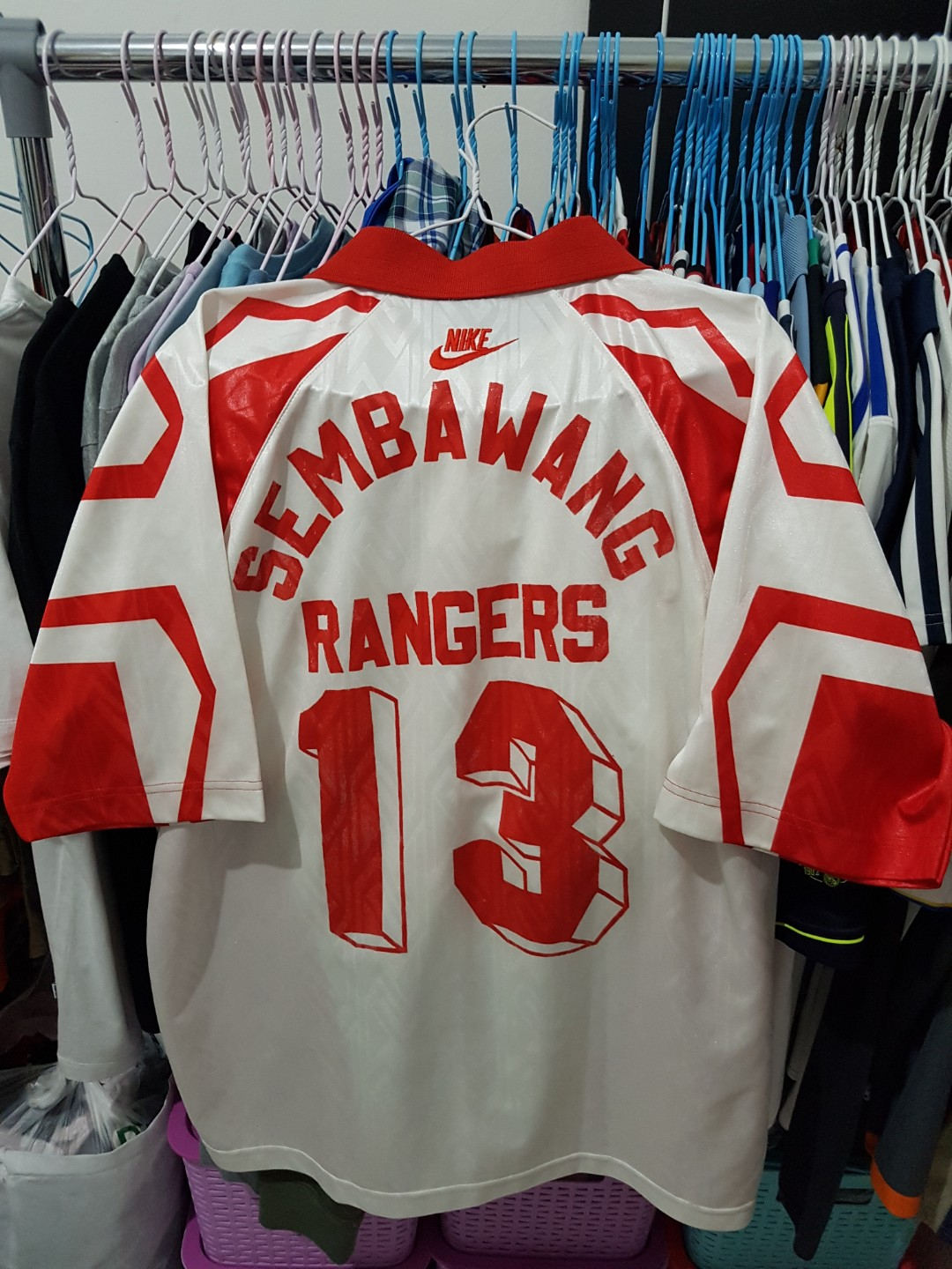 26e5b55d298 Authentic sembawang rangers FC jersey, Sports, Sports Apparel on Carousell