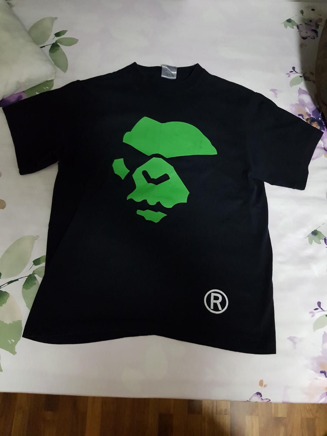 20426635f Vintage Bape Tee sz L, Men's Fashion, Clothes, Tops on Carousell