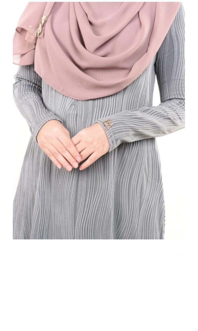 Bella ammara sophia dress in grey