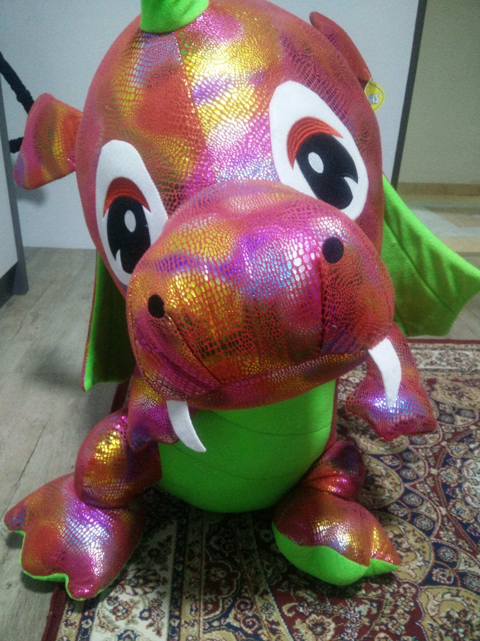 Big Dragon Stuffed Toy Toys Games Stuffed Toys On Carousell