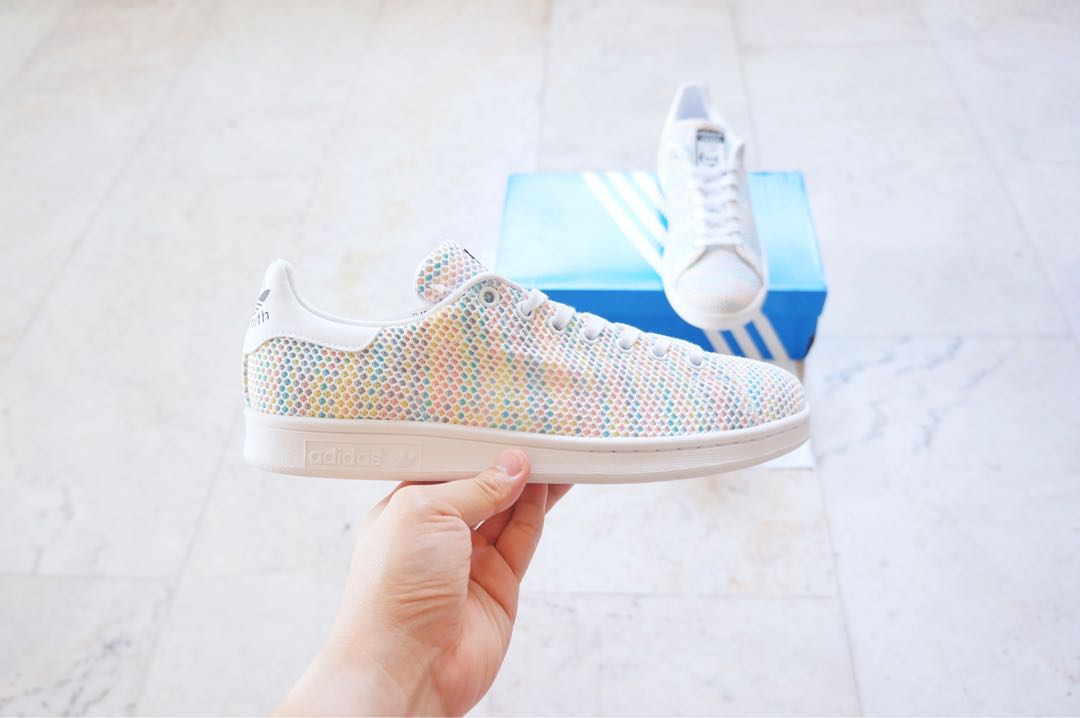 8992d345f Brand new) Adidas Stan Smith Multicolour Men s US8.5   UK8