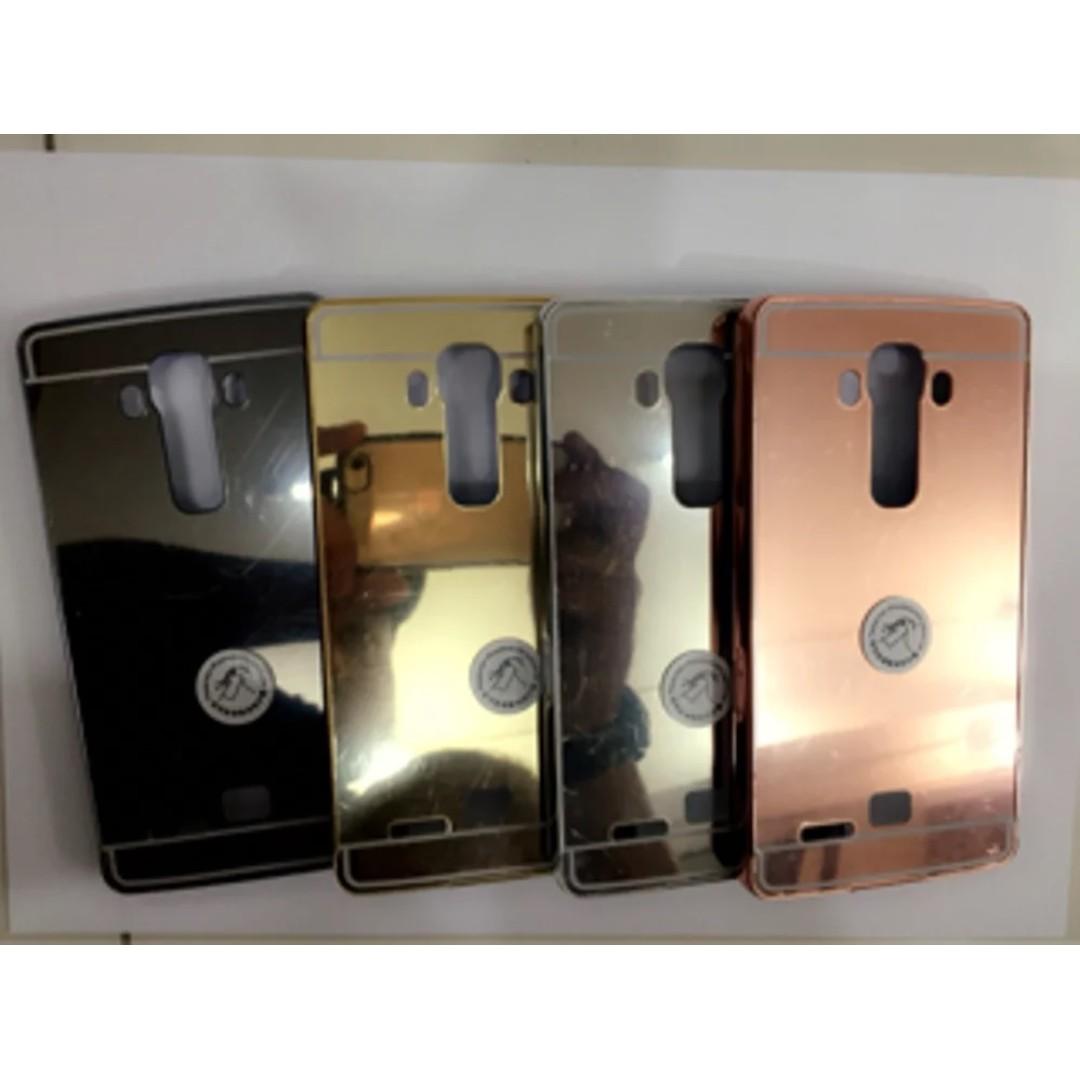 newest d28cb 0618f Bumper Slide Mirror Case LG G3