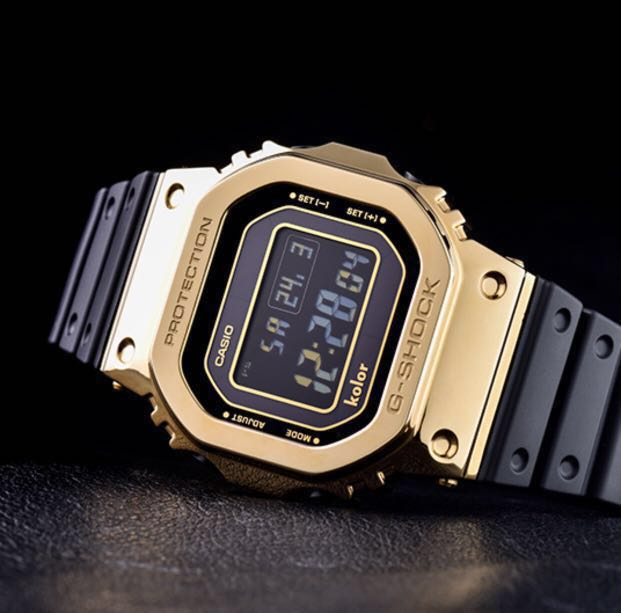 8cb0f0604ab Carousell의 Casio Kolor x G-Shock GMW-B5000KL-9 Limited Gold and Black Series