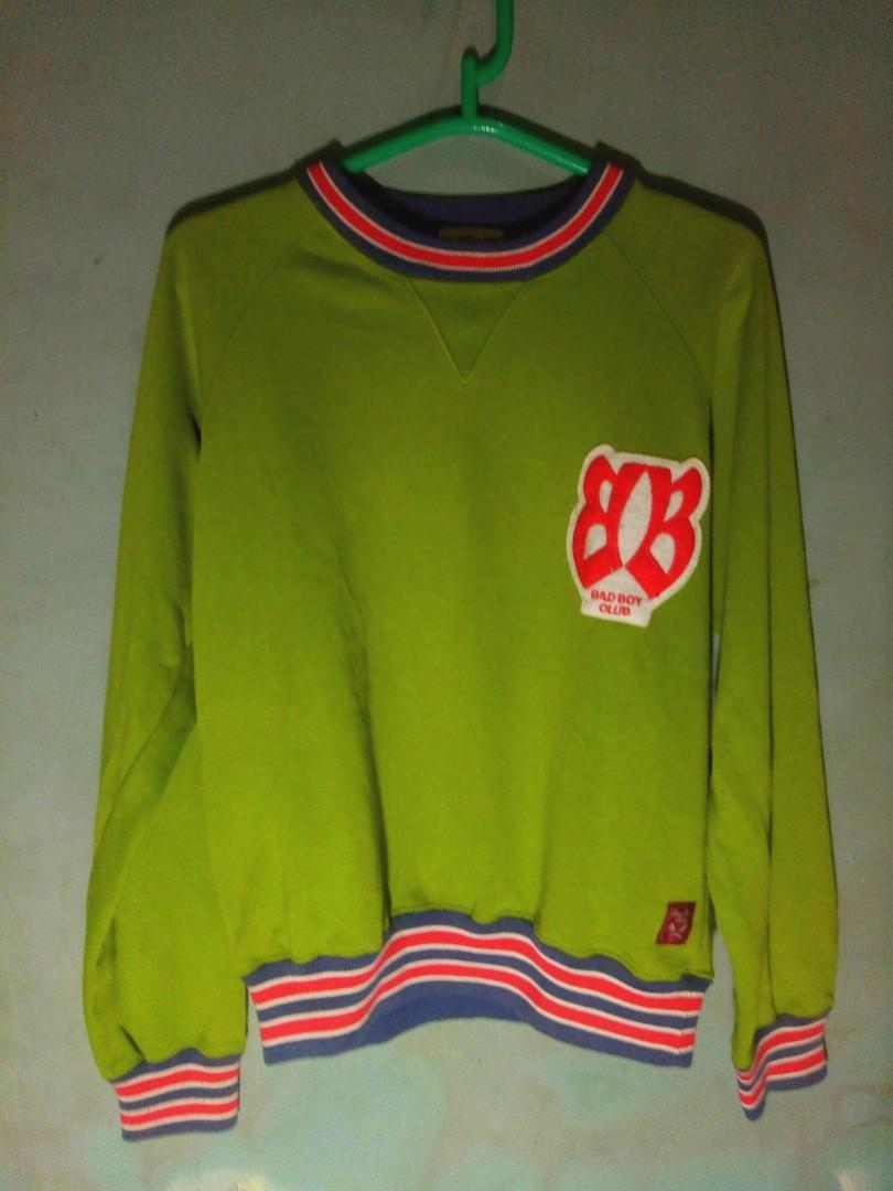 Crewneck Sweater Bad Boy Club Vintage Men S Fashion Men S Clothes
