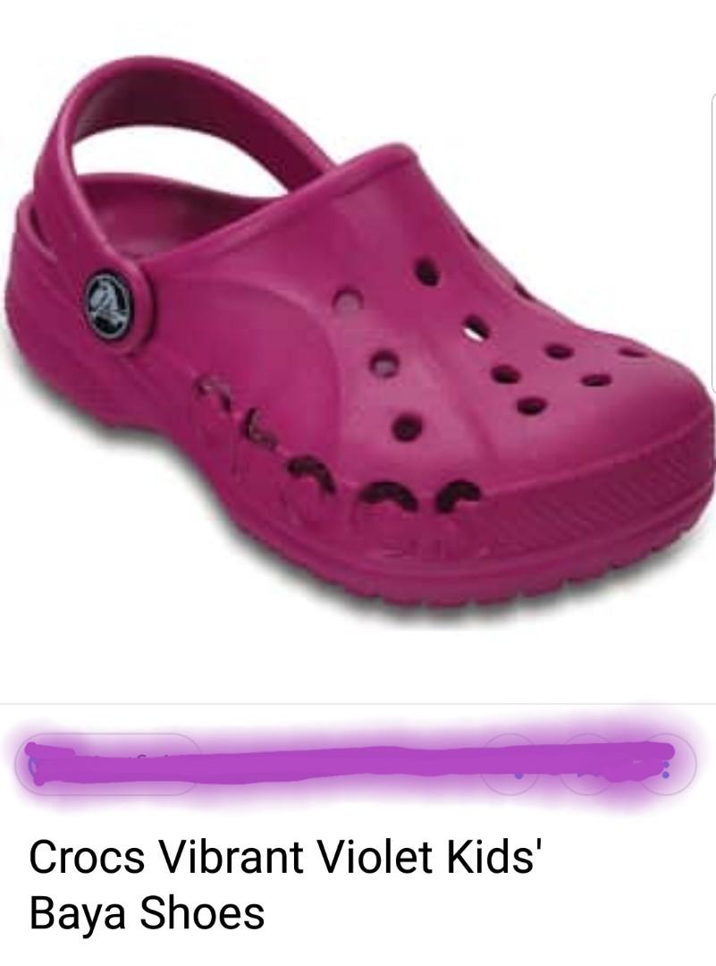 cheap for discount ab40c f07e6 BNWT Crocs Baya Kids Clog