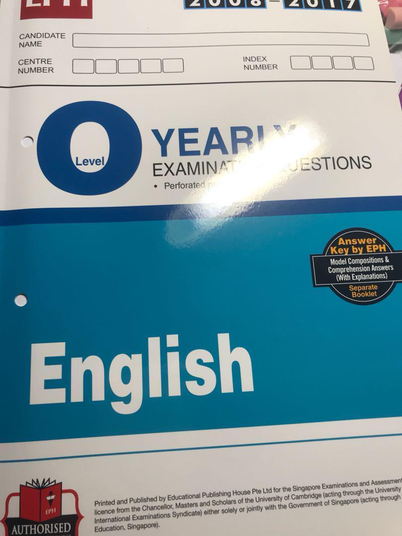 english o lvl tys