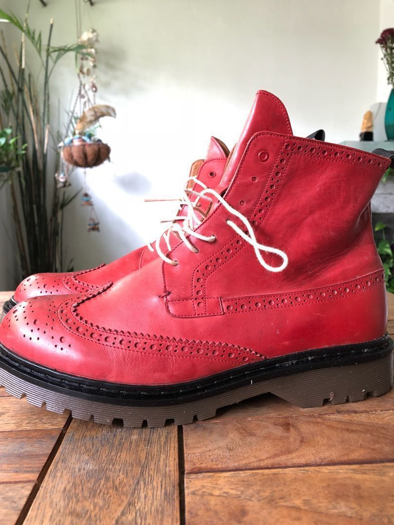 Fifth Avenue Shoes Repair Boots Red Wing Wingtip Men S Fashion