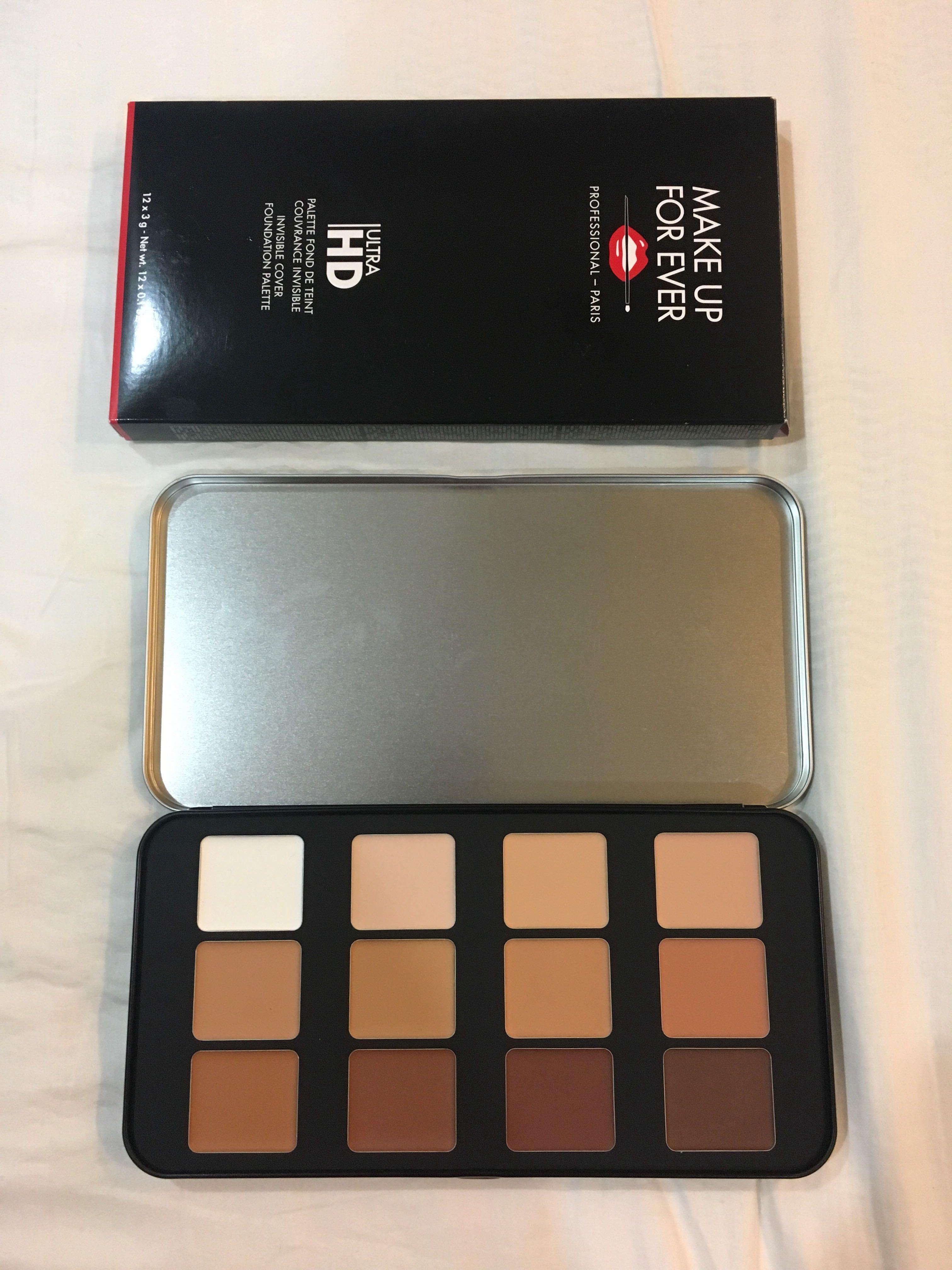 Makeup Forever Foundation Palette