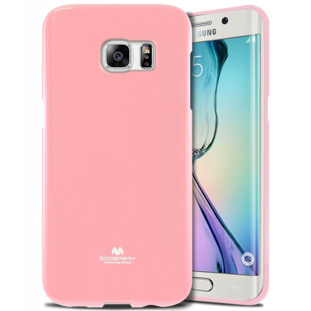 Goospery Samsung S6 Edge Jelly Case Authentic Mobiles Tablets Oppo A5 A3s Pearl Photo