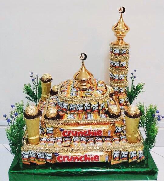 Gubahan Gula Gula & Chocolate Masjid