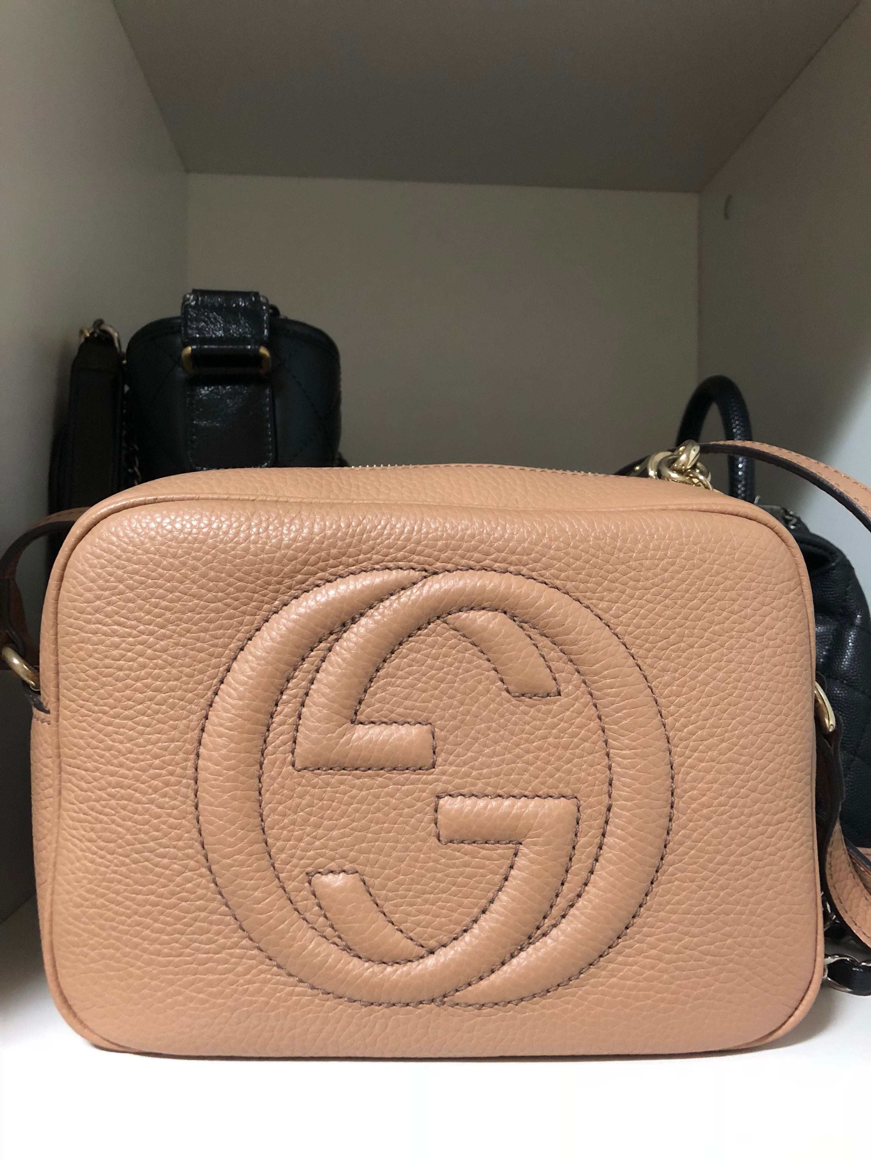 349cbc817851 Gucci Soho Disco Bag, Luxury, Bags & Wallets, Sling Bags on Carousell