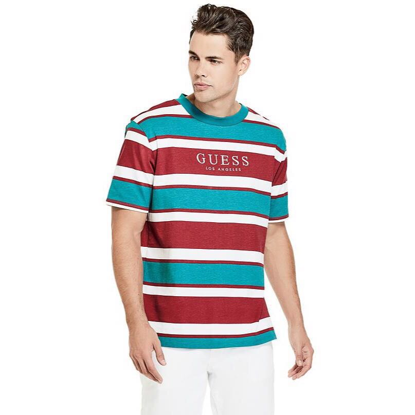 search for authentic best deals on hot-selling newest GUESS St. James Stripe Tee, Men's Fashion, Clothes, Tops on ...
