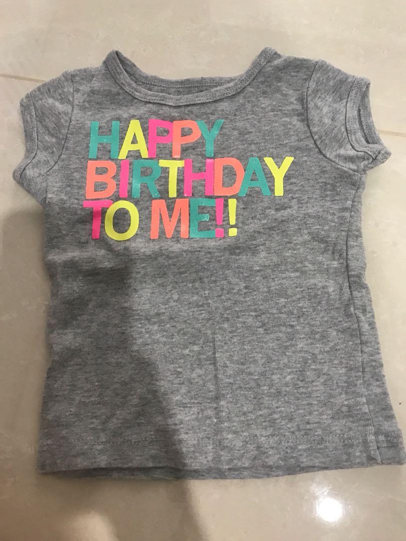 Happy Birthday To Me TOP Baby Carters Babies Kids Apparel