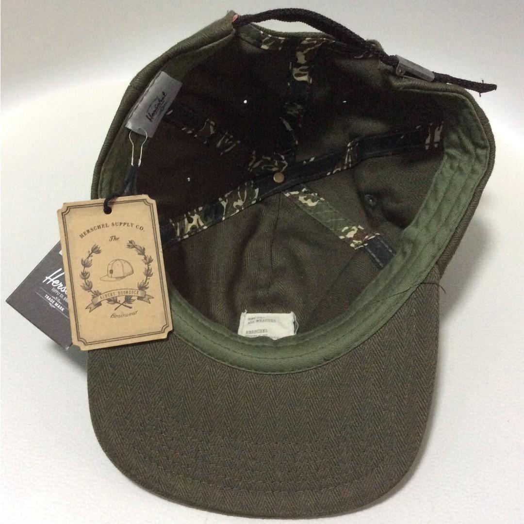 Herschel Supply Co. Olive Green Cap c22ea5d860a