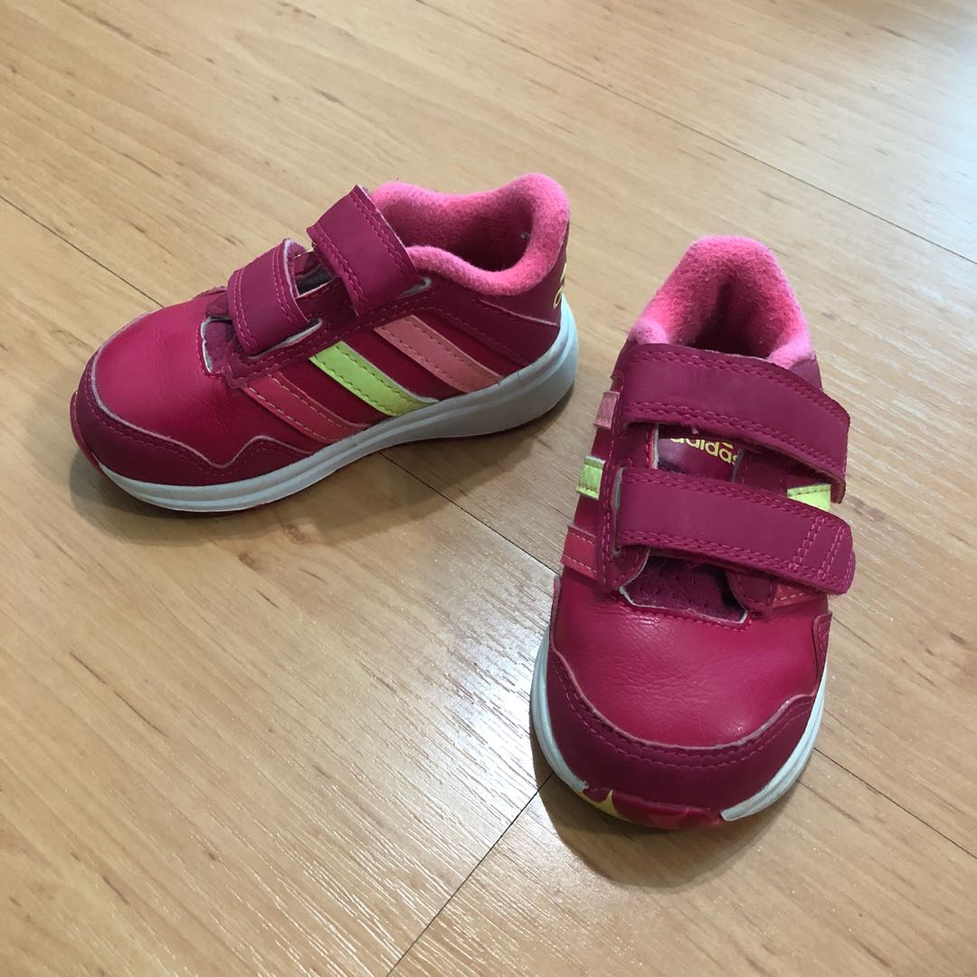 18886cc3 Hot Pink Adidas Kids Shoes