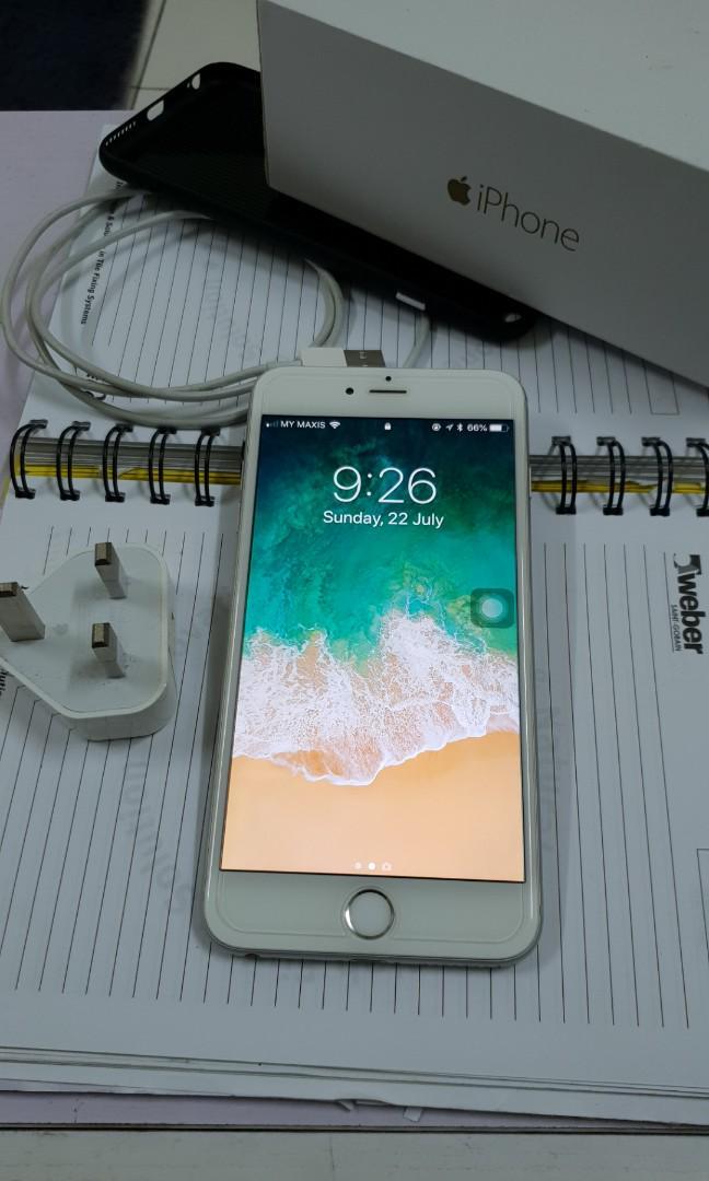 I phone 6 Plus 64 GB MY set #postforsbux