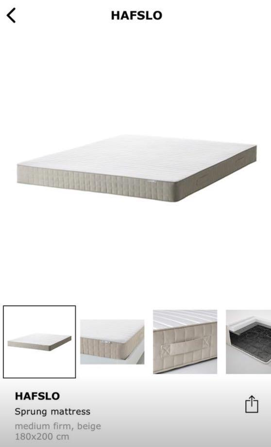 Ikea King Mattress for sell