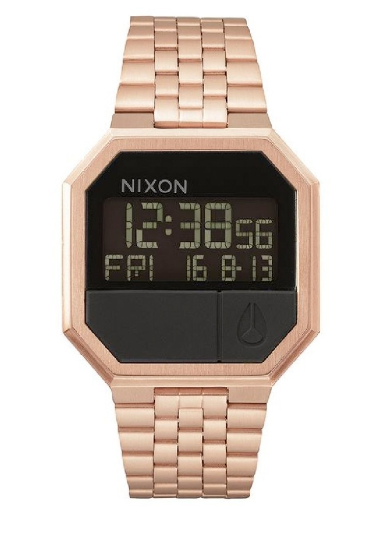 Jam Tangan Nixon Re Run Rose Gold Original, Women's Fashion, Women's Watches on Carousell