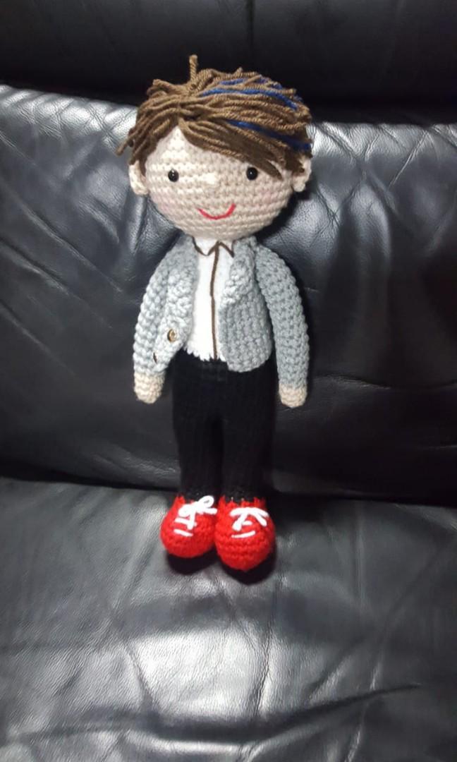 International Korean Hanbok Doll: Hana Amigurumi Crochet | Etsy | 1080x648