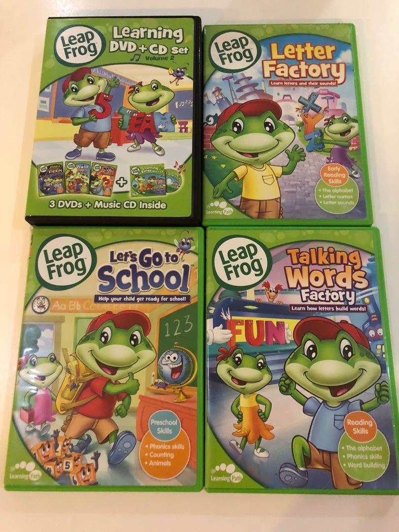 60d83eed2d596 Leap Frog DVD set Letter Factory