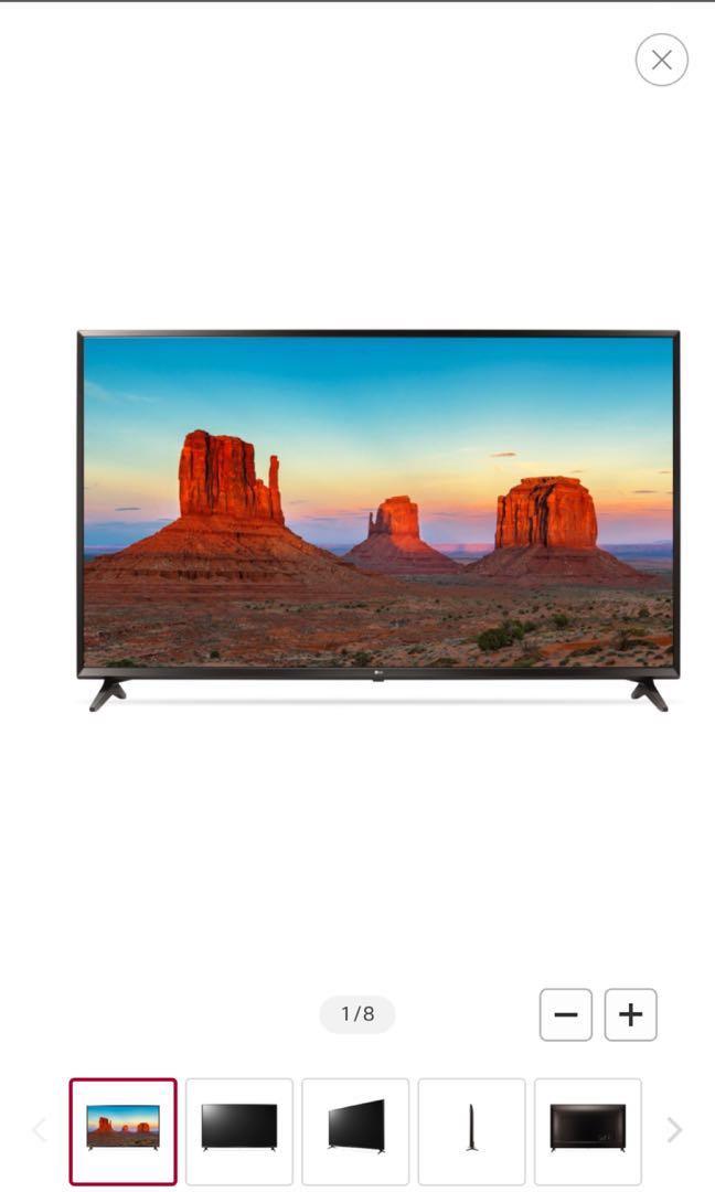 "LG 65"" 4K UHD Smart TV"