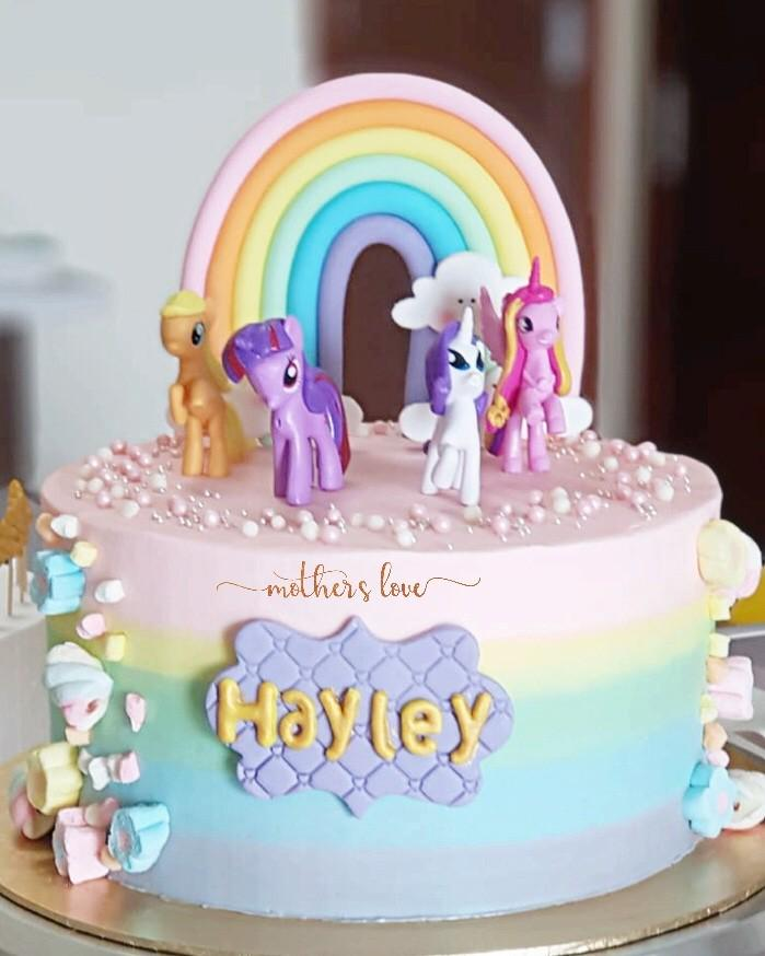 Prime Little Pony Birthday Cake Food Drinks Baked Goods On Carousell Funny Birthday Cards Online Alyptdamsfinfo