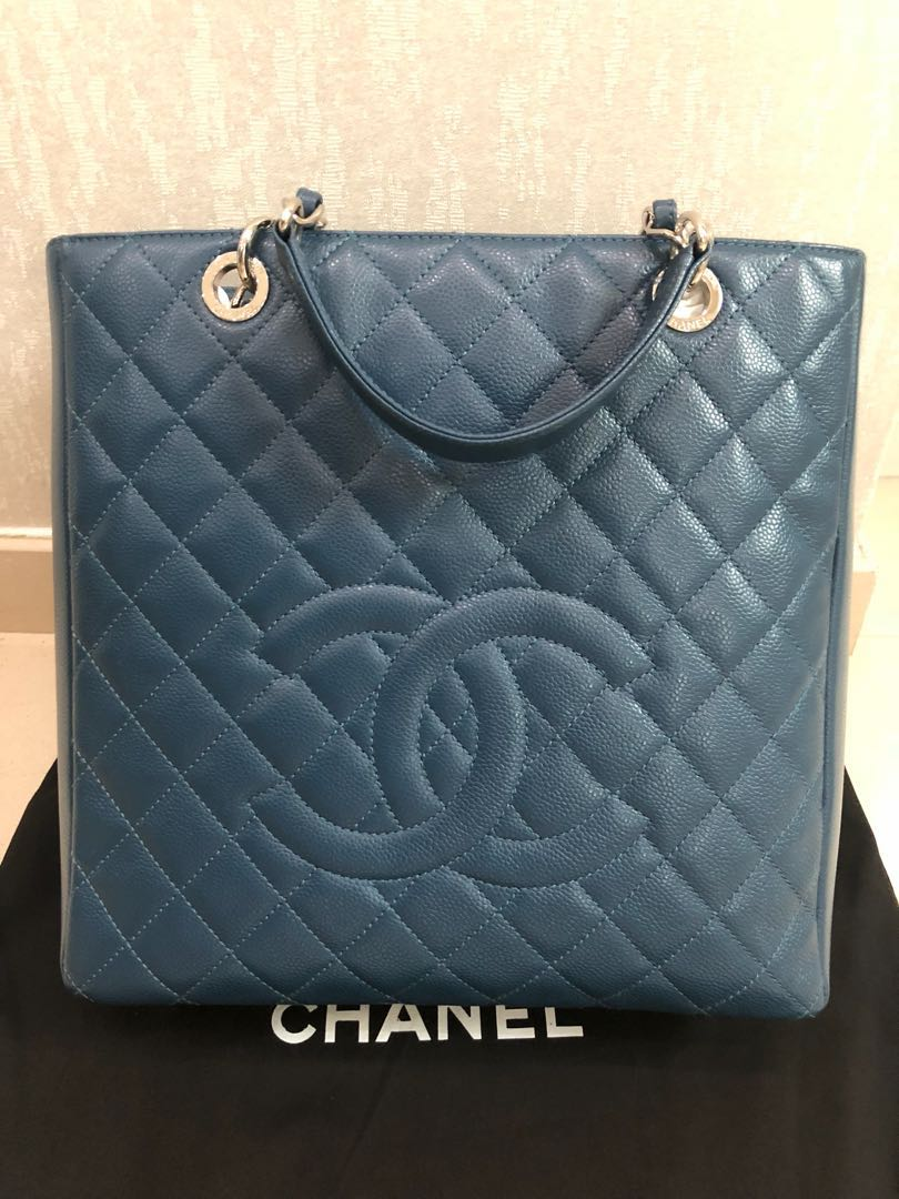 a60a5d0ad243 $2.2k now Price Reduction - LNIB CHANEL PST XL Tote Bag, Luxury ...