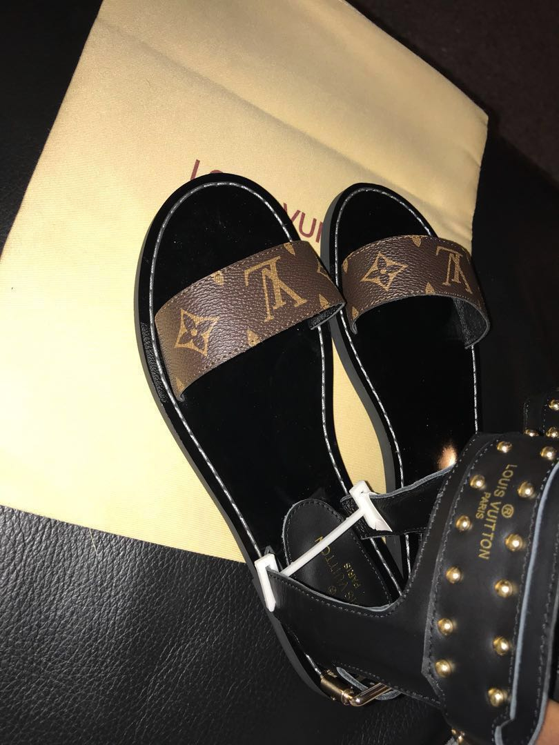 8604f59bc0e Louis Vuitton nomad sandals on Carousell