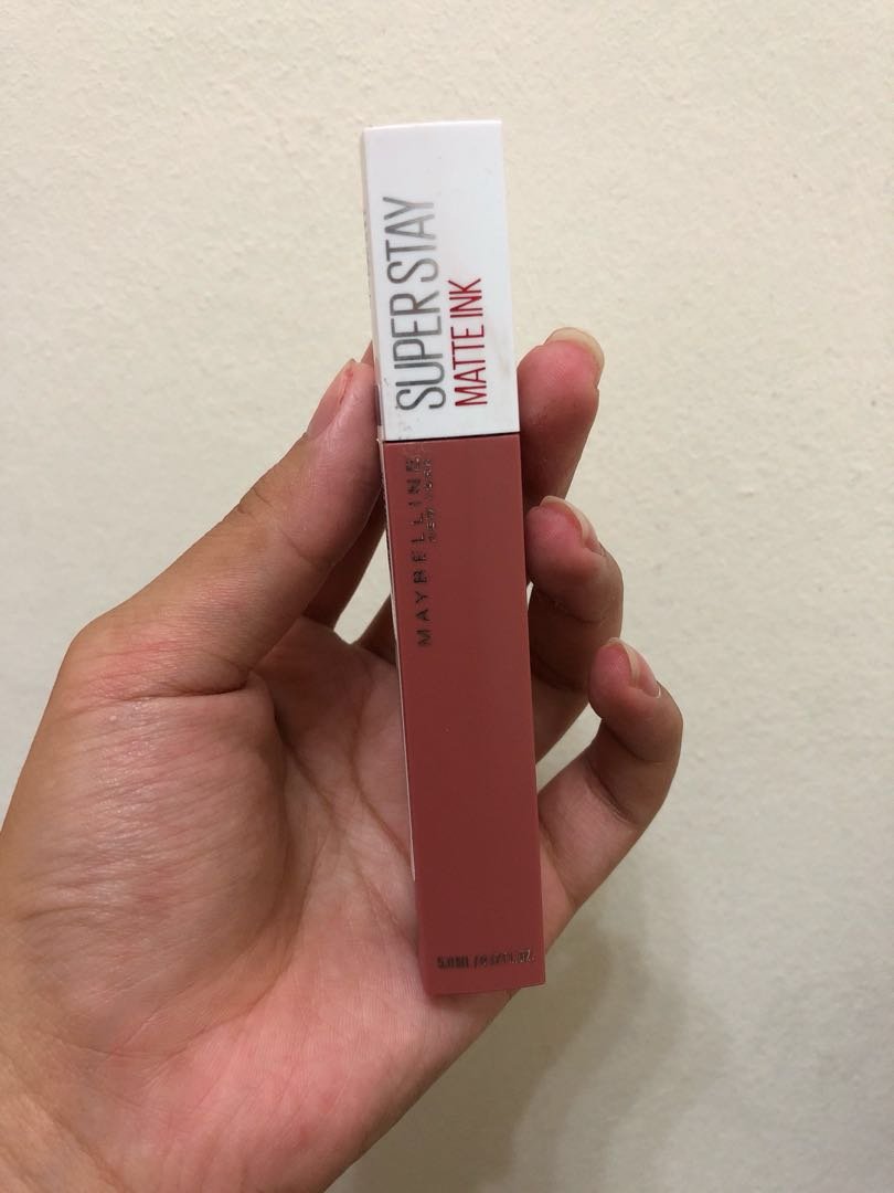 Maybelline Super Stay Matte Ink 65 Seductress Health Beauty