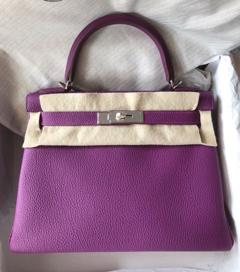 58301d0cda50 New Hermes Kelly 28 Anemone Togo Phw R stamp
