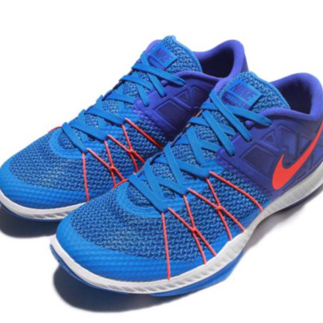 NEW Nike Zoom Men's Blue Training Shoes