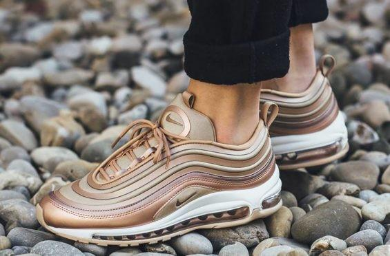 the latest abde4 48dce Nike Air Max 97 Ultra Rose Gold, Women's Fashion, Shoes ...