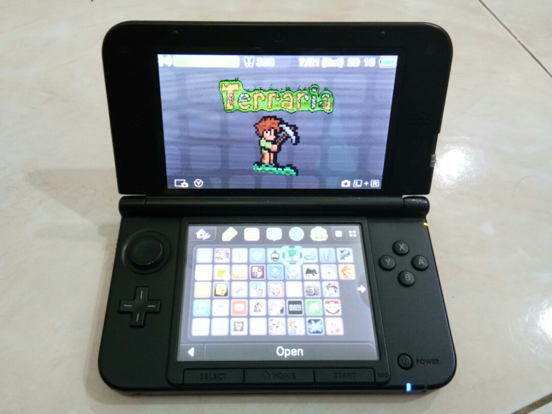 Nintendo 3ds Xl 32gb Modded Video Gaming Game Consoles On Screen Tempered Glass For New Ll Hori Carousell