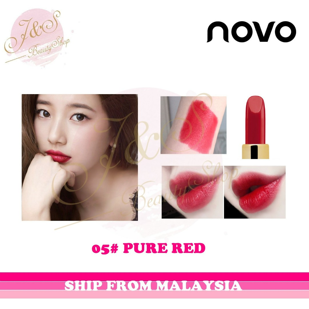 Novo Diamond Lipstick Review Indonesia Duos Tone Lipbar Health Beauty Makeup On Carou