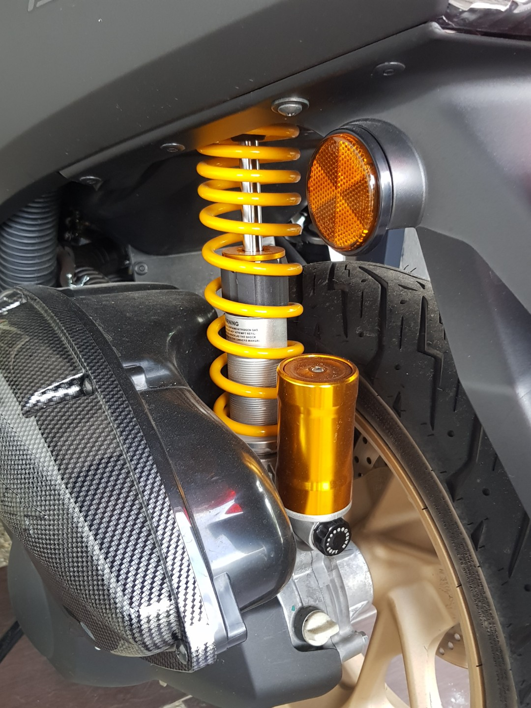 Ohlins For Yamaha Nmax Auto Accessories On Carousell Breket Holder Dan Lampu