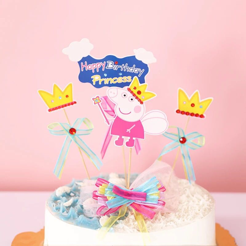 Surprising Peppa Pig Birthday Cake Images Top Birthday Cake Pictures Funny Birthday Cards Online Overcheapnameinfo