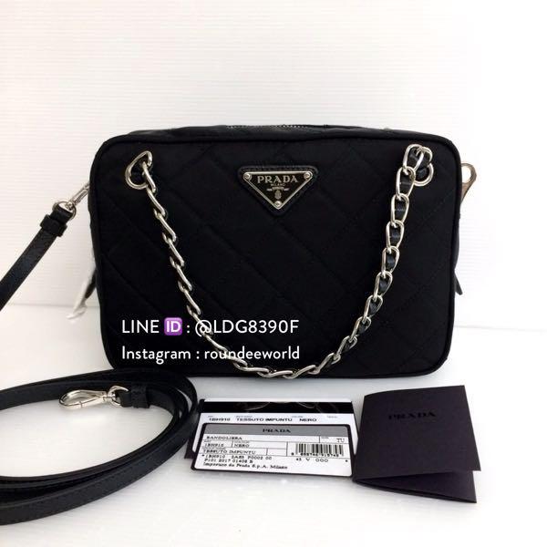 bc0b0ab9e08cd1 ... cheap prada tessuto nylon convertible sling bag 1bh910 black luxury bags  wallets sling bags on carousell ...