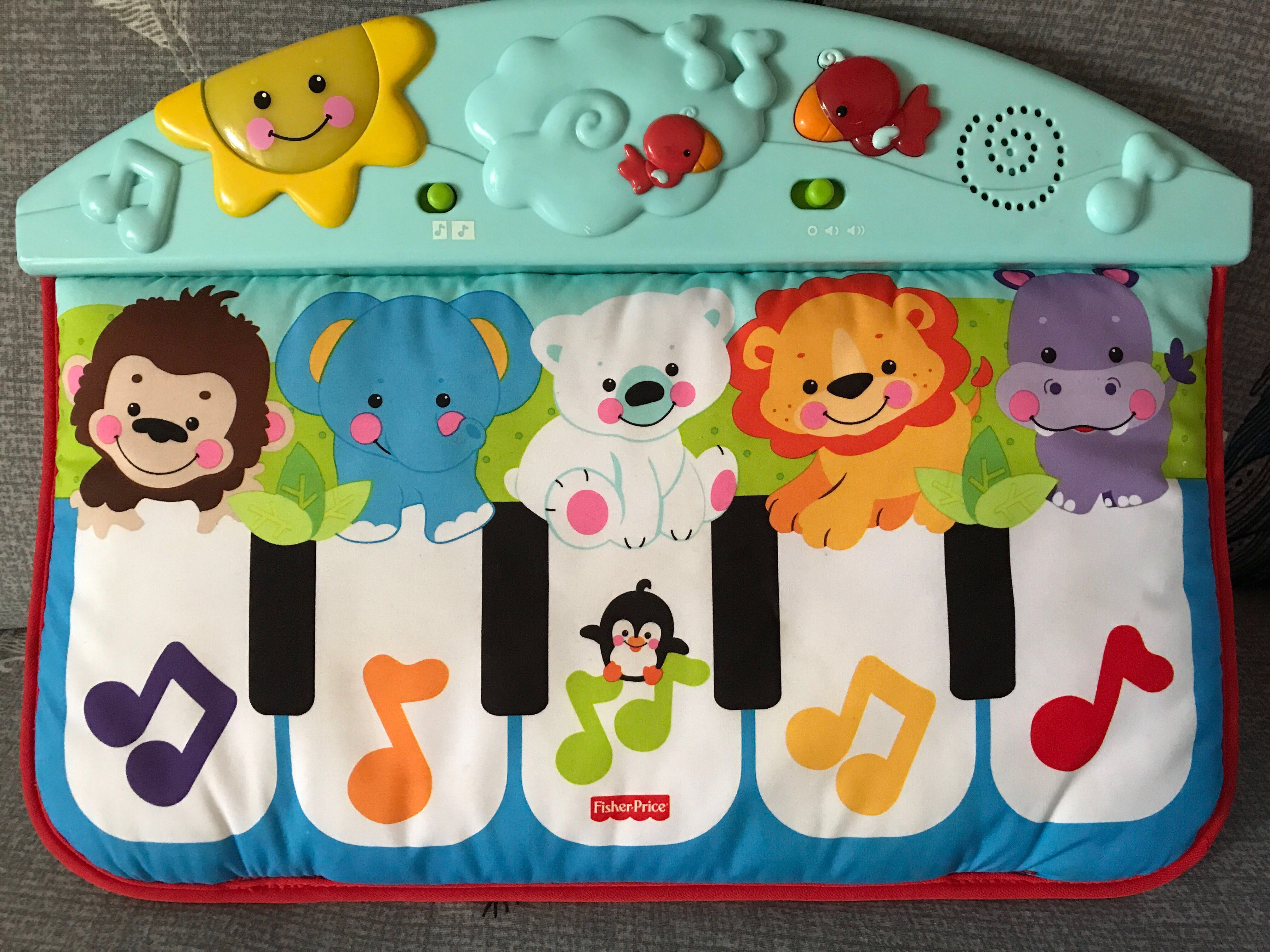 Precious Planet Crib And Floor Piano By Fisher Price Baby Toy