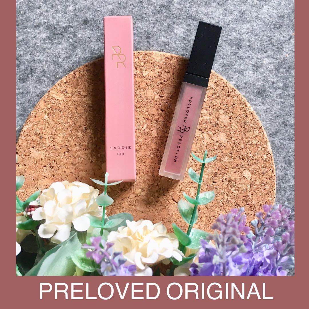 PRELOVED Rollover Reaction Sueded Lip and Cheek Cream Saddie, Kesehatan & Kecantikan, Rias Wajah di Carousell