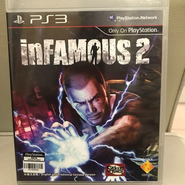 PS3遊戲 inFamous 2