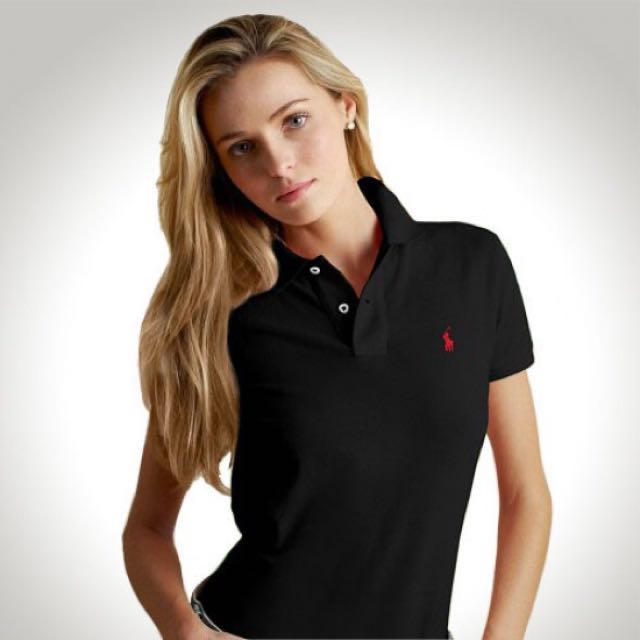 68f41ff44e Ralph Lauren Polo Tee (Black Red Checkered)
