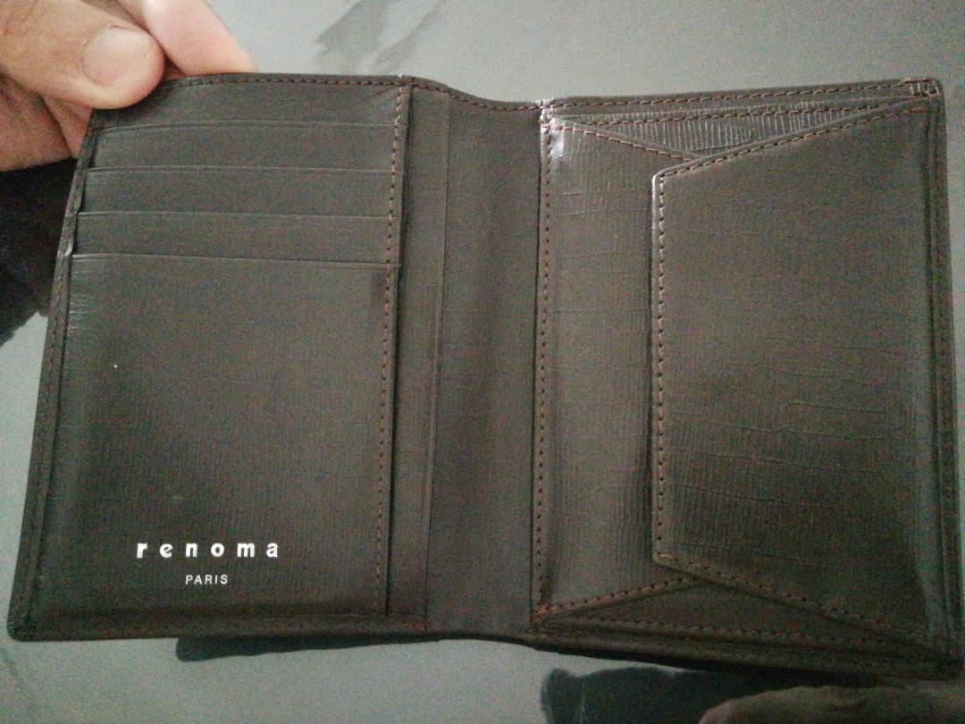 Renoma Bi-fold wallet